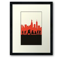 City Defenders Framed Print