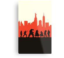 City Defenders Metal Print
