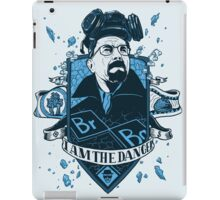 I am the Danger – Blue iPad Case/Skin