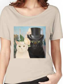 Charming Cats Wedding  Women's Relaxed Fit T-Shirt
