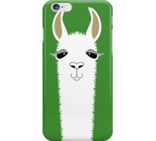 LLAMA PORTRAIT #2 iPhone Case/Skin