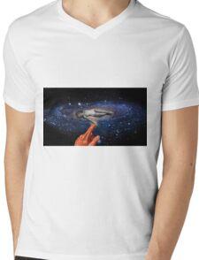 BAM! Mens V-Neck T-Shirt