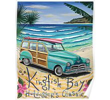 Kingfisher Bay Poster
