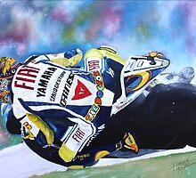 Valentino Rossi Yamaha  by iconic-arts