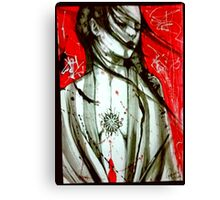 Welcome To My New Disorder Canvas Print