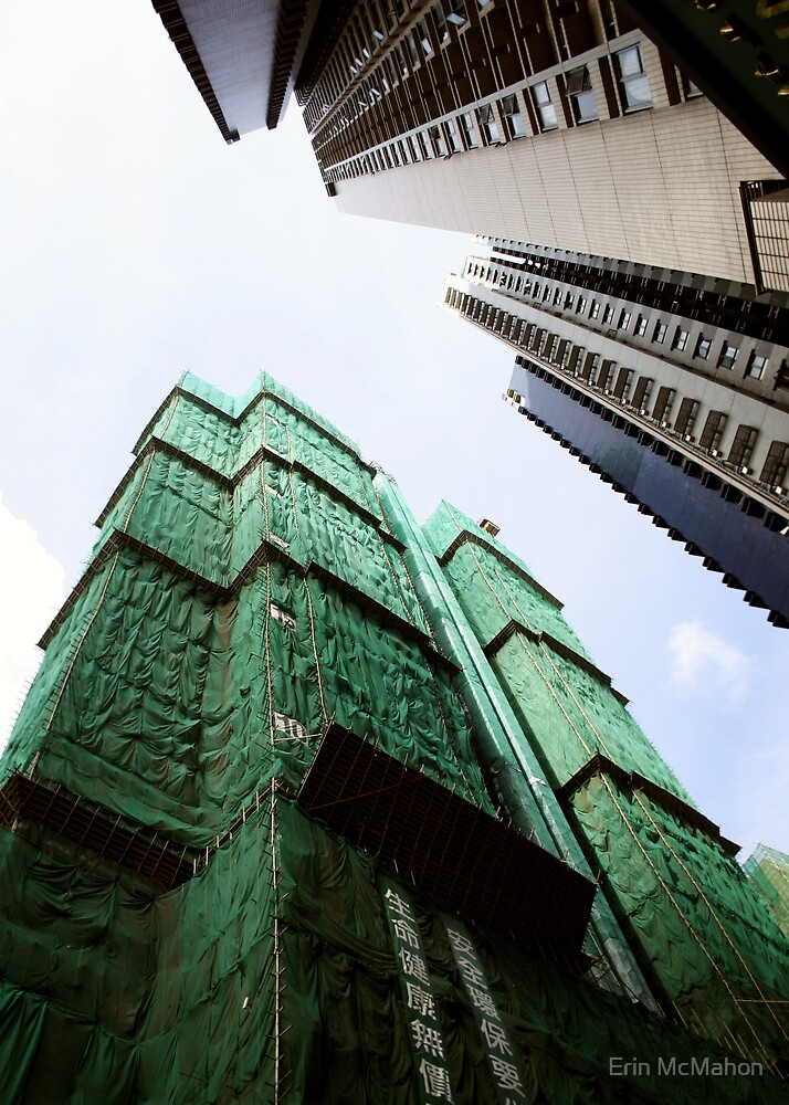 Skyscrapers - Hong Kong by Erin McMahon