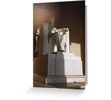 The Great Emancipator Greeting Card