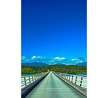 Let's Cross This Bridge Photographic Print