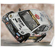 Pat Doran Ford Fiesta Poster