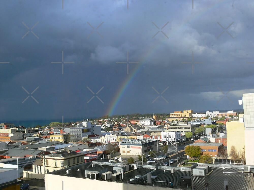 Rainbow and Storm by Sandra Chung