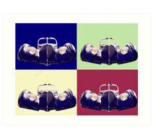 Bugatti 57sc atlantic Art Print