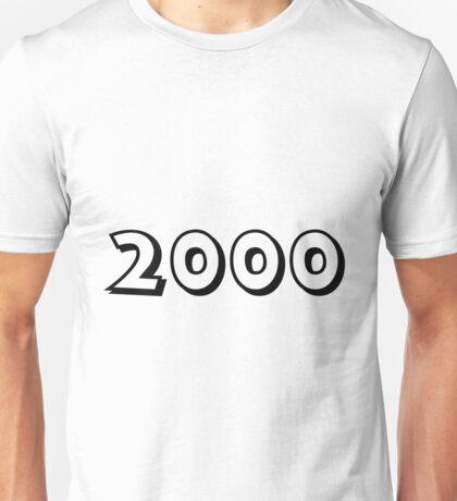 The Year 2000 Unisex T-Shirt