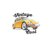 VW Beetle - Vintage Cool Photographic Print