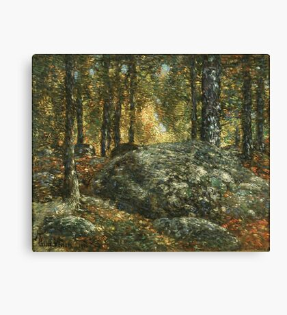 Childe Hassam - The Jewel Box, Old Lyme Canvas Print