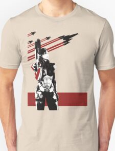 N7- Commander Shepard (Female) Unisex T-Shirt