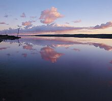 Sunrise over Port Gregory Salt Lake, Western Australia by nick page