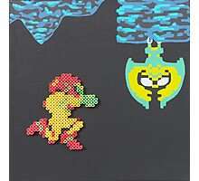 Metroid (Paints 'n' Beads) Photographic Print
