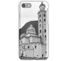 Basilica of the Madonna of Tirano iPhone Case/Skin
