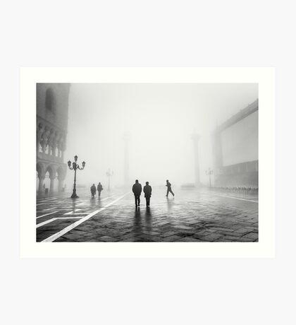 Venetian Fog, Venice, Italy Art Print