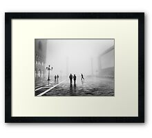 Fog In San Marco, Venice, Italy (2011) Framed Print
