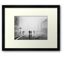 Venetian Fog, Venice, Italy Framed Print