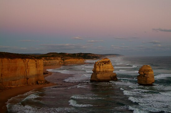 Twilight Twelve Apostles,Great Ocean Rd by Joe Mortelliti
