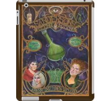 Hocus Pocus - Sanderson's Potions and Notions Vintage Add Poster (Unofficial, Fan Art) iPad Case/Skin