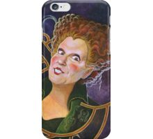 Hocus Pocus - Sanderson's Potions and Notions Vintage Add Poster (Unofficial, Fan Art) iPhone Case/Skin