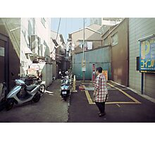 mid-morning in a japanese chinatown Photographic Print