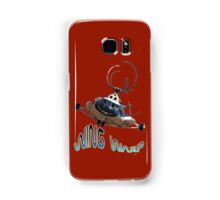 Mil Helicopter Wing Warp T-shirt Design Samsung Galaxy Case/Skin