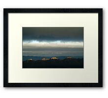 First Ray's Grampians Framed Print