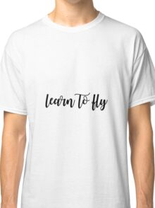 Learn To Fly - Foo Fighters Classic T-Shirt