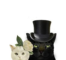 Charming Cats Wedding by timelessfancy