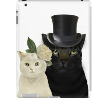 Charming Cats Wedding iPad Case/Skin