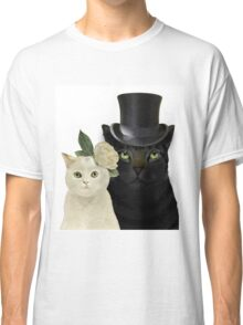 Charming Cats Wedding Classic T-Shirt
