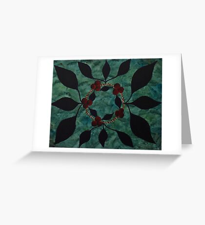 Crown of Threes Greeting Card