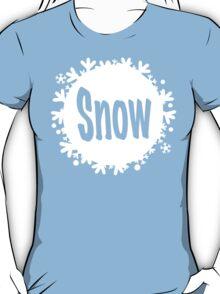 white snowball - snow T-Shirt
