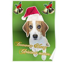 dog want present too Poster