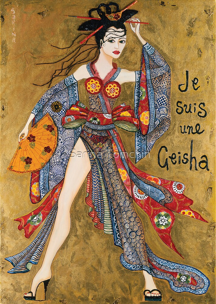 Je Suis Une Geisha by Sarina Tomchin
