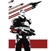 N7- Commander Shepard (Male) Photographic Print