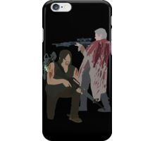 Carol Peletier and Daryl Dixon (Version 2) - The Walking Dead iPhone Case/Skin