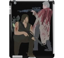 Carol Peletier and Daryl Dixon (Version 2) - The Walking Dead iPad Case/Skin