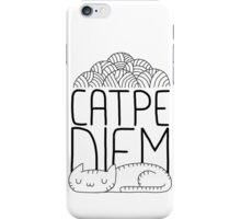 CATPE DIEM iPhone Case/Skin