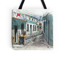 Quiet sidestreet, Ferragudo, Portugal Tote Bag