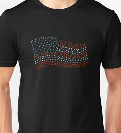 Flag of stars - Super Bowl 51 Unisex T-Shirt
