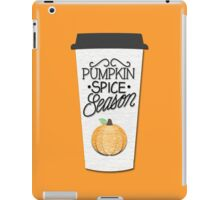 Pumpkin Spice Season iPad Case/Skin