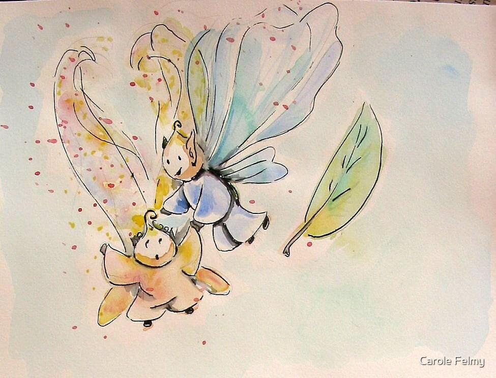 (Children book illustration) by Carole Felmy
