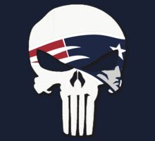 New England Patriots Punisher Logo by VelocityDesigns