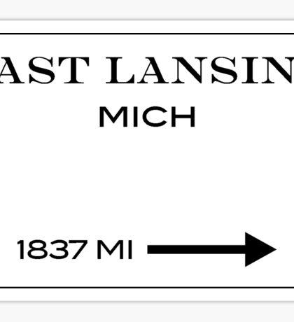 east lansing prada Sticker