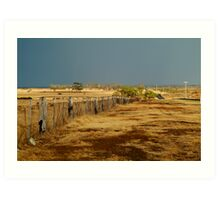 Country Road,Rural Geelong Art Print